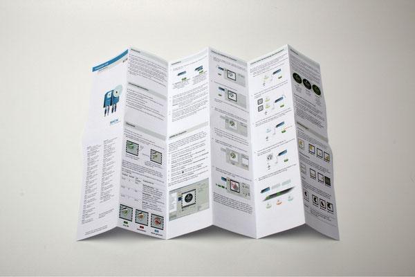 Digitaldruck Gebrauchsanweisung Falt