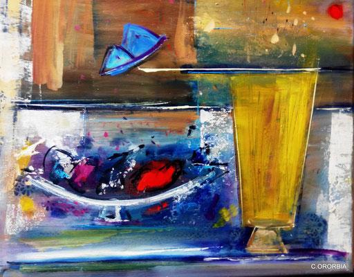 """""""Sinfonía de color""""  (35 x 46 cm)"""