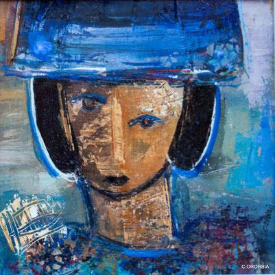 """""""Intriga""""  (23 x 23 cm)"""