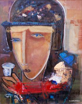 """Brindis al Sol""   (81 x 65 cm)"