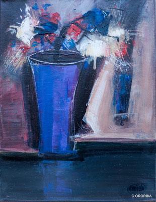 """""""Expansión de color""""  (35 x 27 cm)"""