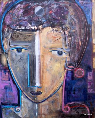 """""""Reflejos""""  (100 x 81 cm)"""