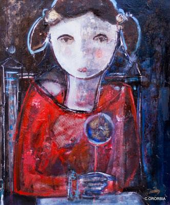 """""""La Piruleta""""  (55 x 46 cm)"""