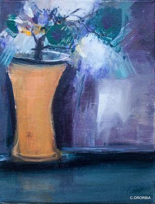 """""""La luz de la esmeralda""""  (35 x 27 cm)"""