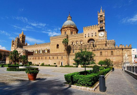 Eindrucksvoll - die Kathedrale von Palermo.