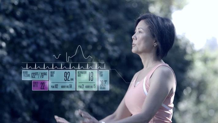 1. Das Pflaster auf der Brust, das vorm Herzinfarkt warnen soll: Das Health Patch von Vitalconnect streamt unser EKG rund um die Uhr direkt aufs Smartphone. Ein Arzt kann sich einloggen, selbst wenn wir tausende Kilometer entfernt sind.