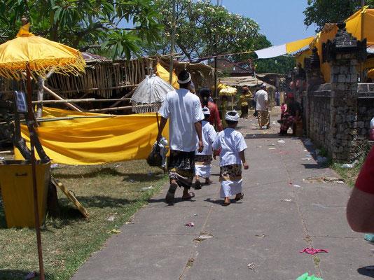 Les nombreuses fêtes hindouistes à Bali