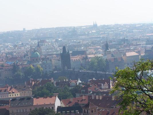 Panorama sur la ville de Prague