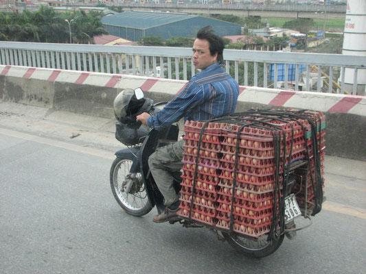 Aujourd'hui, le scooter, très populaire, a remplacé le vélo dans tout le pays