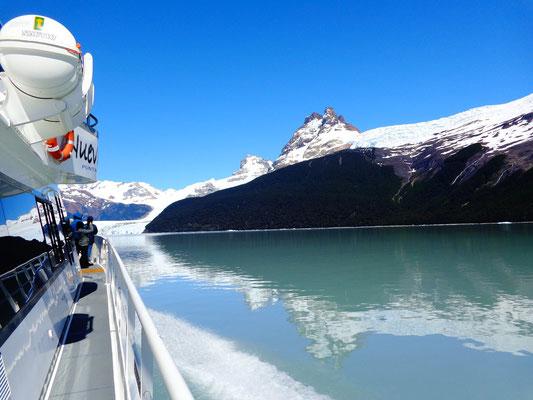 Sur le Lac Argentino