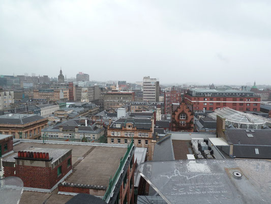 Vue panoramique de Glasgow