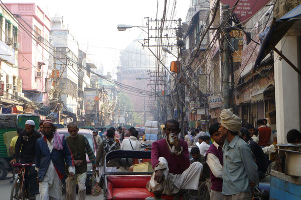Le trafic de Delhi