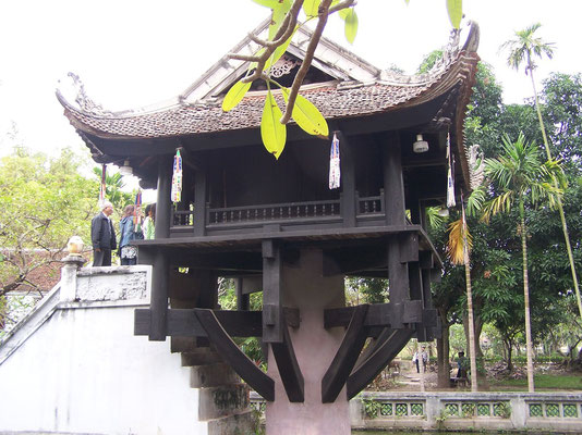 Hanoi, la Pagode au pilier unique