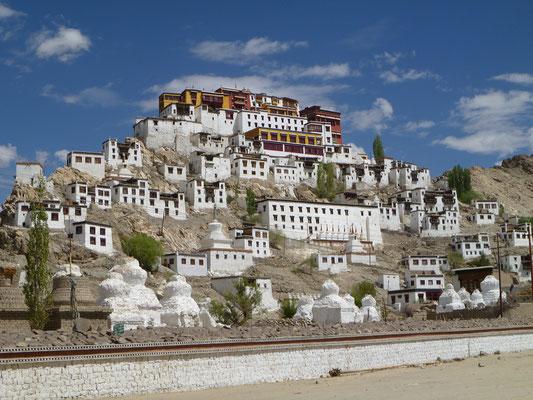 Le temple bouddhiste de Thiksey