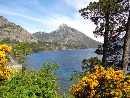 Près de Bariloche, les lacs