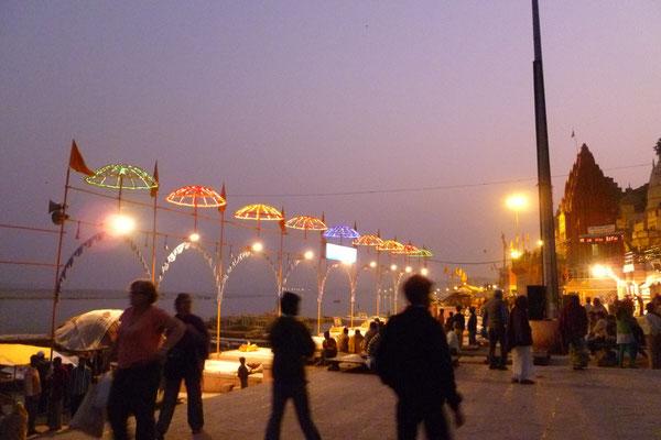 Bénares sur le Gange