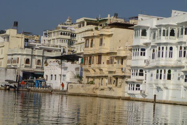 Udaipur et son lac Pichola