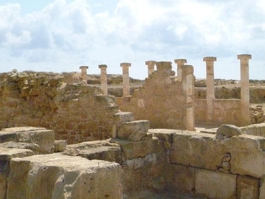 Le site archéologique de Dionysos