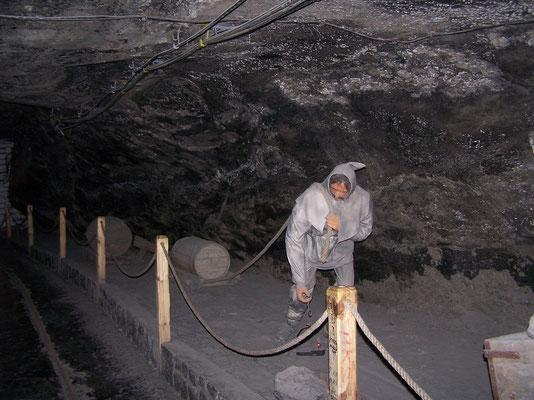 Les Mines de Sel de Wieliczka en Pologne