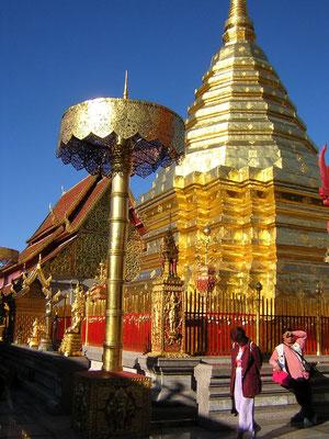 Le Temple d'Or de Doï Suthep