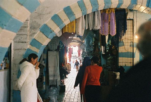 A l'intérieur de la médina d'Hammamet