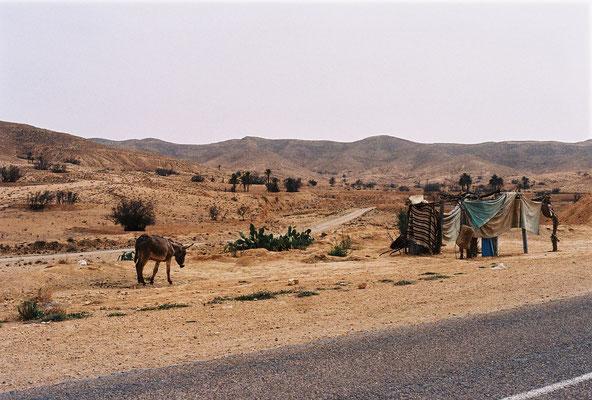 Sur la route de Matmata