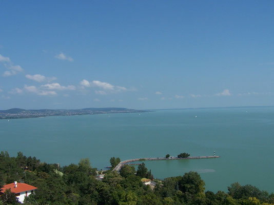 Le Lac Balaton en Hongrie