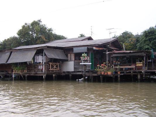 Balade en bateau sur le Chao Praya à Bangkok