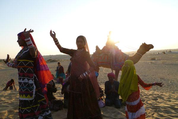 Dans le désert de Jaisalmer