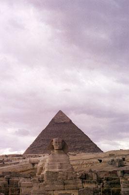 Le Sphinx et la Pyramide de Gizeh