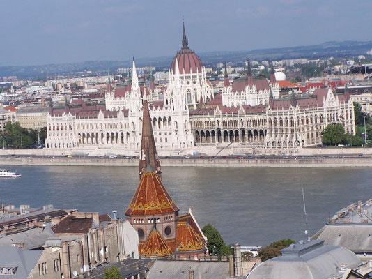 Budapest et le fleuve Danube