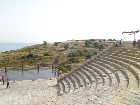 Le Théâtre gréco-romain de  Kourion