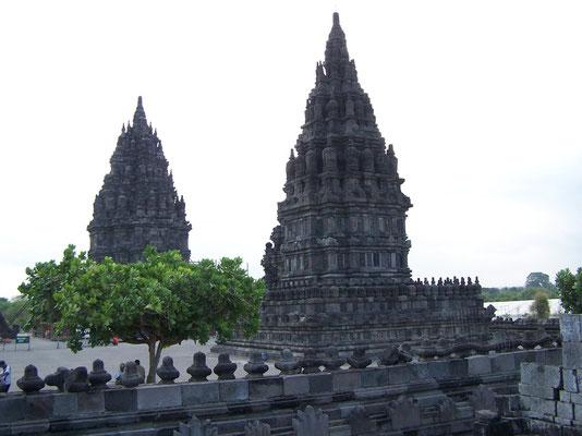 Le temple hindouïste de Prembanan à Java
