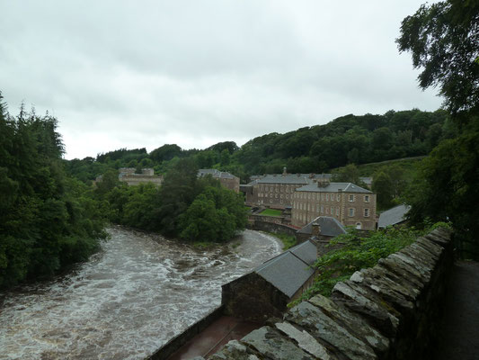 Site classé par l'UNESCO, le New Lanark