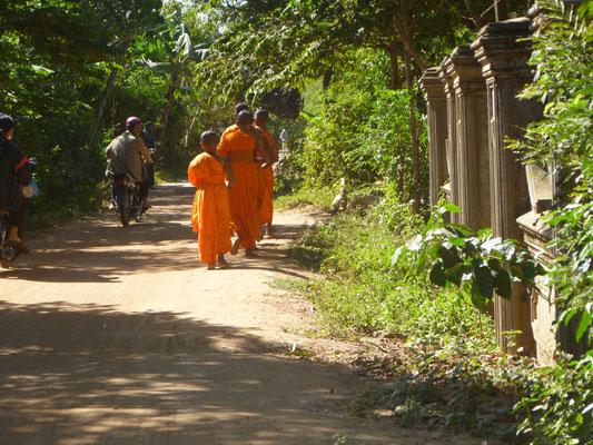 Sur les îles du Mékong à Kampong Cham