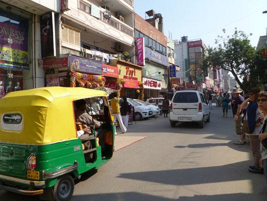 New Delhi et ses tuk-tuk