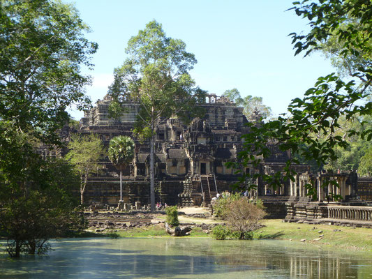 Angkor Wat près de Siem Reap