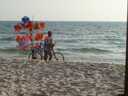 La plage de Sihanoukville