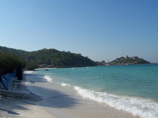 Les plages de l'île aux Coraux, près de Pattaya