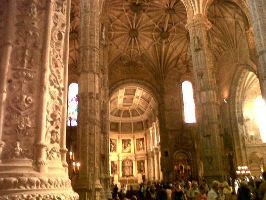 Le Monastère de Géronimo à Lisbonne