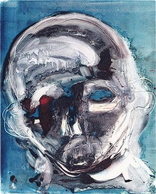 BRAINWASH 2 | Monotypie/Papier | 20 x 25 cm | 2010