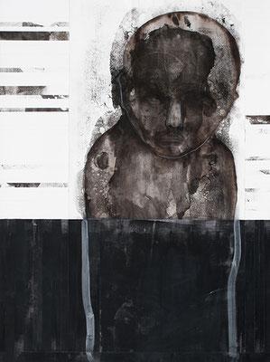 I FEEL STRANGE | Mixed Media/Papier | 60 x 80 cm | 2011