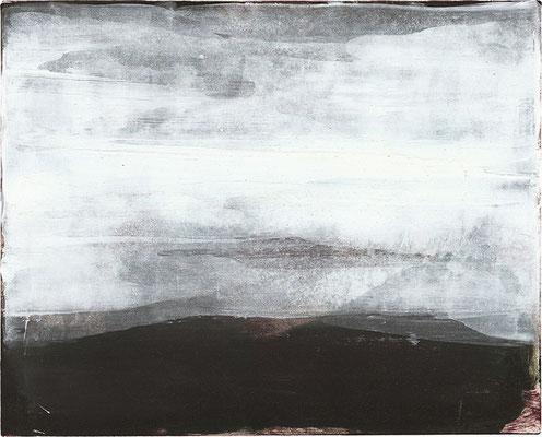 TROSTLOS   Monotypie/Papier   25 x 20 cm   2011