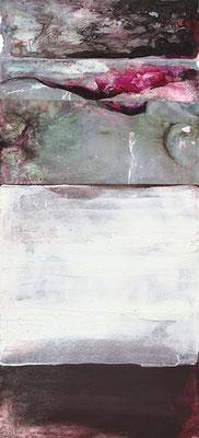 LANDSCAPE 3 | Mixed Media/Papier | 20 x 43 cm | 2011