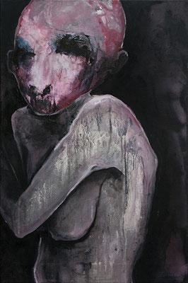 OHNE TITEL | Mixed Media/Leinwand | 40 x 60 cm | 2010