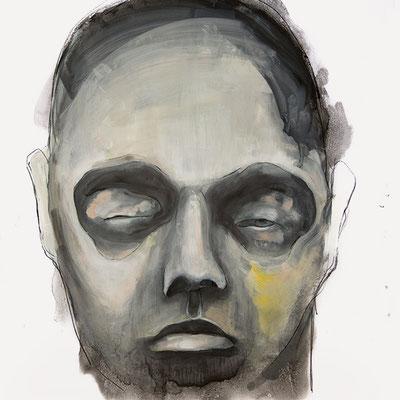 OHNE TITEL | Mixed Media/Papier | 65 x 65 cm | 2013