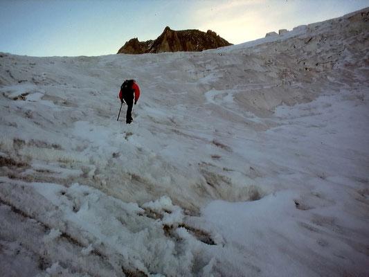 Am Gletscherfuß - ca. 2900 M