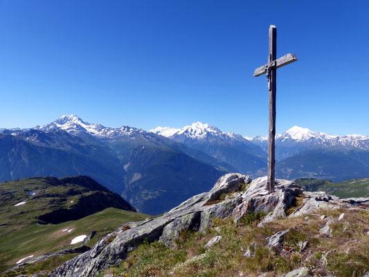 Am Gipfel des Foggenhorn - 2569 M