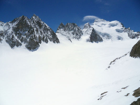 Glacier Blanc vor Barre des Ècrins