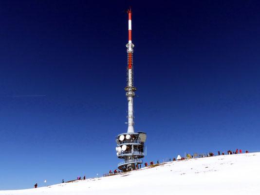 Gipfelantenne des Rigi Kulm - 1798 M